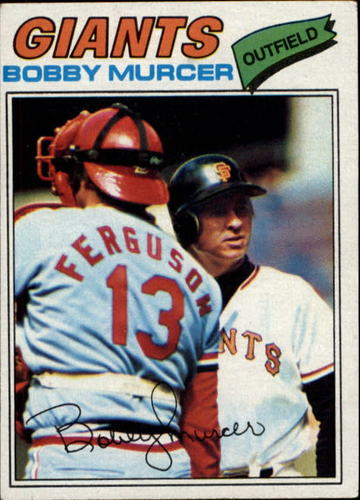 Photo of 1977 Topps #40 Bobby Murcer