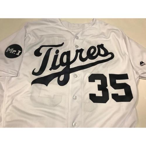 Team-Issued Justin Verlander Fiesta Tigres Jersey