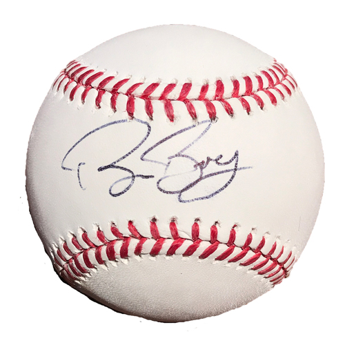 Photo of San Francisco Giants - Autographed Ball - Bruce Bochy