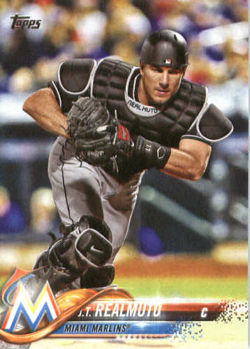 Photo of 2018 Topps #79 J.T. Realmuto