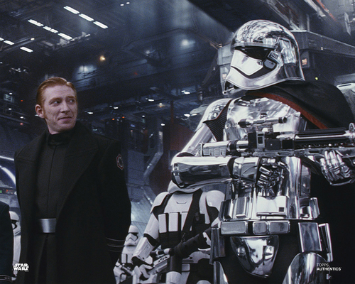 Captain Phasma and General Hux