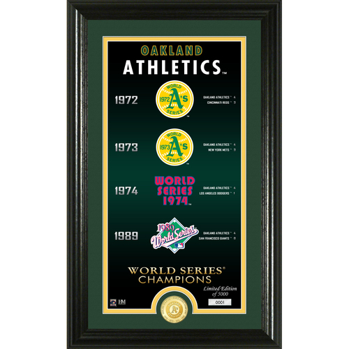 "Photo of Oakland Athletics ""Legacy"" Bronze Coin Photo Mint"