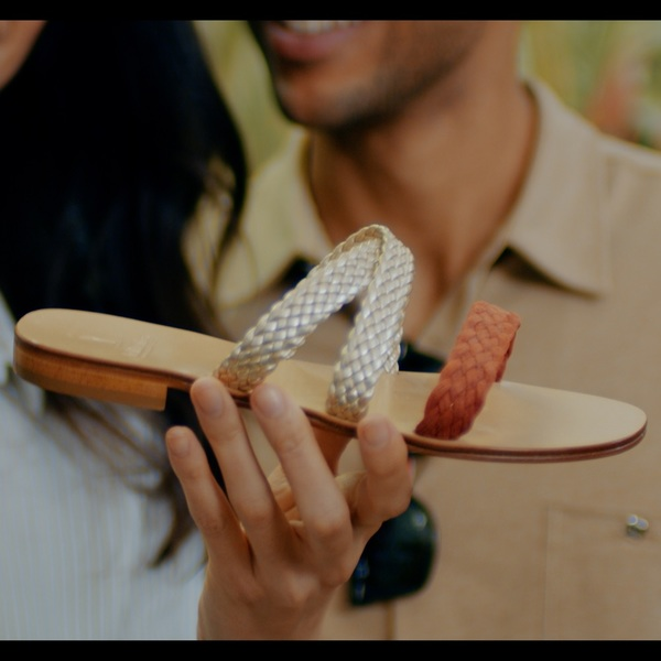 Click to view Discover the Italian Craftsmanship of Sandal Making.
