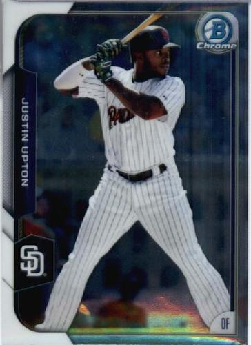 Photo of 2015 Bowman Chrome #19 Justin Upton