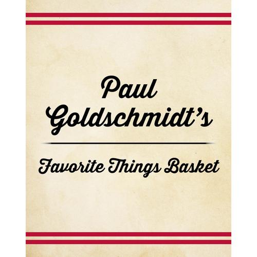 Photo of Paul Goldschmidt's Favorite Things Basket