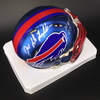HOF - Bills Joe DeLamielleure Signed Blaze Mini Helmet