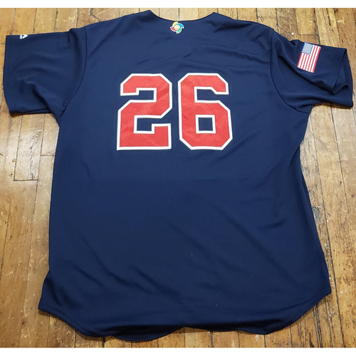 Photo of 2017 World Baseball Classic Team Issued Jersey - Brandon Crawford - Size XL (USA)
