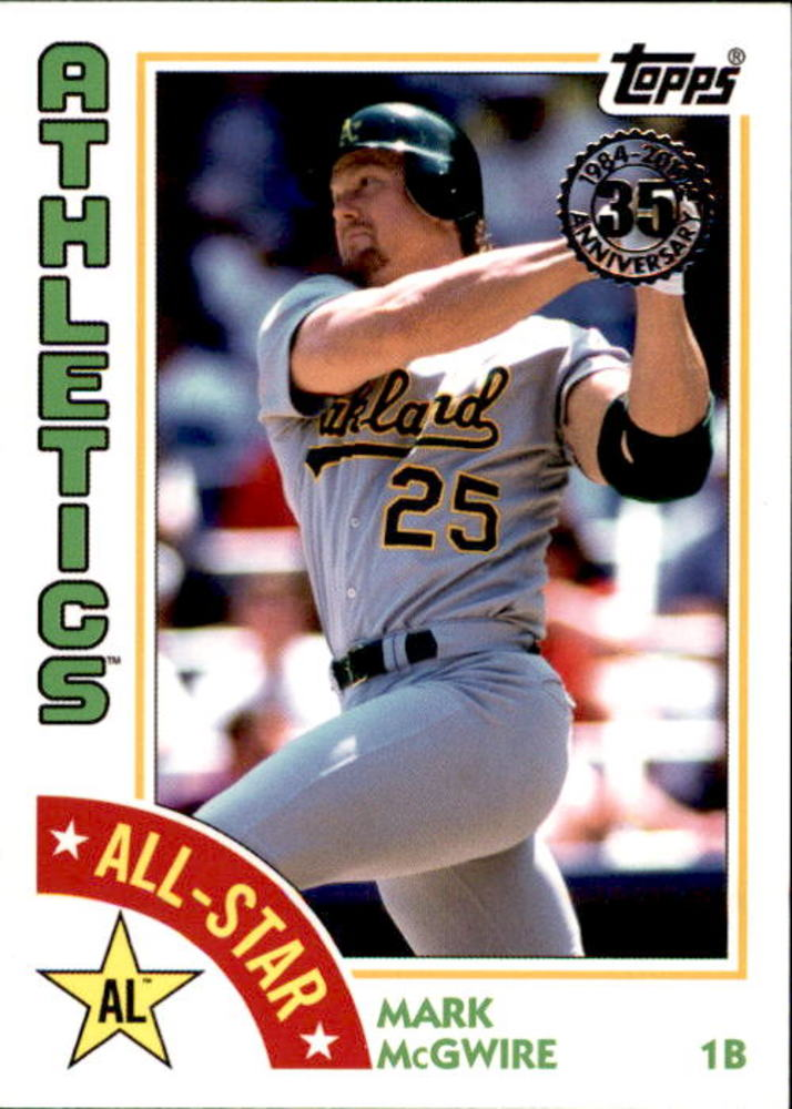 2019 Topps '84 Topps All Stars #84ASMAC Mark McGwire