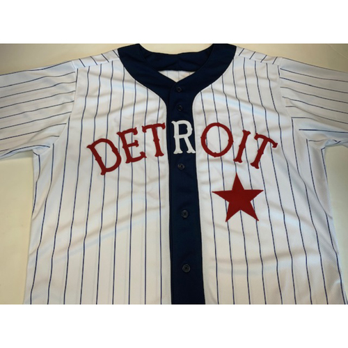 Photo of Game-Used Jersey Detroit Stars: Jose Cisenro