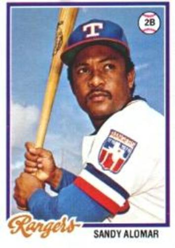 Photo of 1978 Topps #533 Sandy Alomar