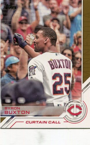 Photo of 2017 Topps Salute #S122 Byron Buxton