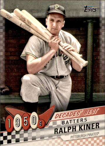 Photo of 2020 Topps Decades' Best #DB19 Ralph Kiner