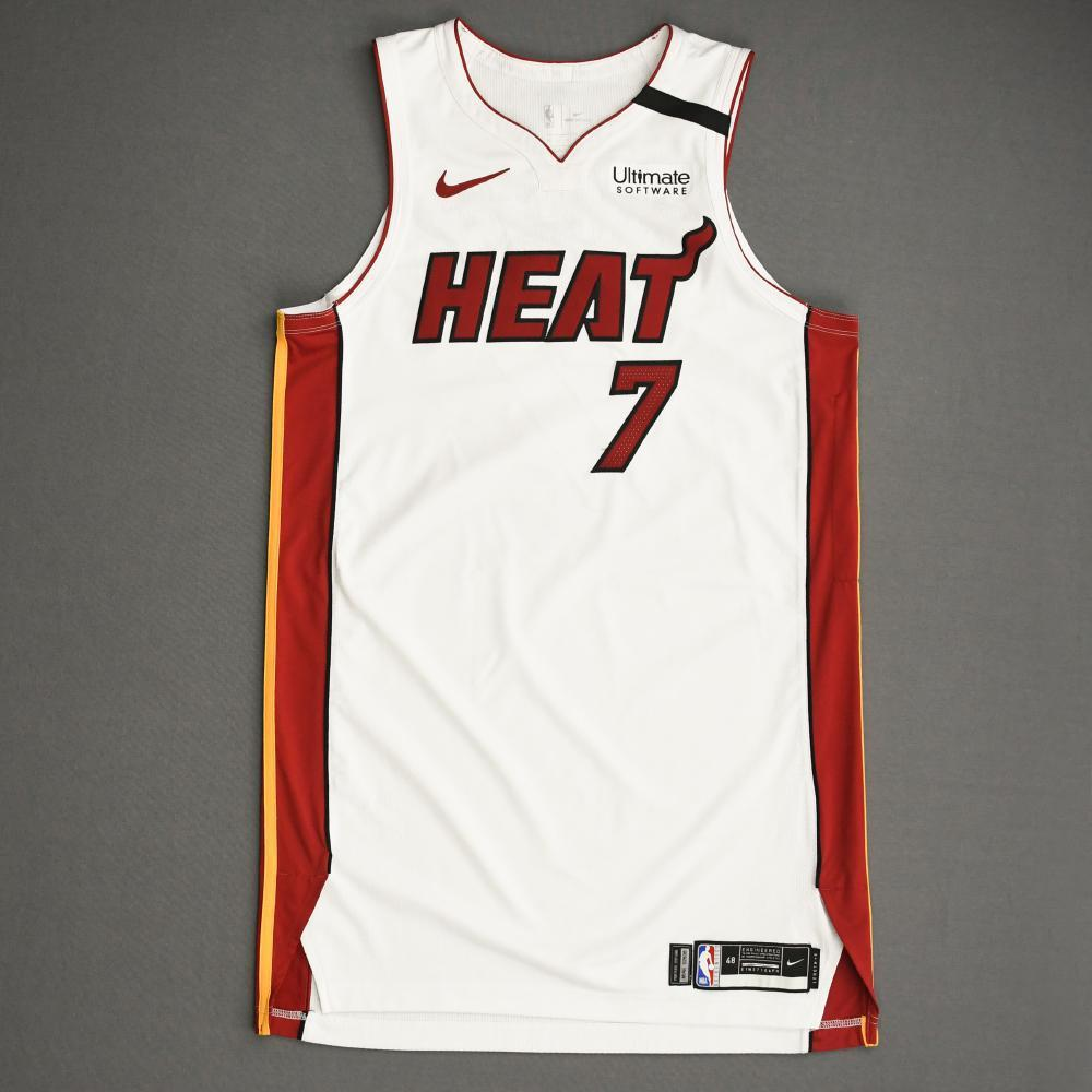 Goran Dragic - Miami Heat - Game-Worn Association Edition Jersey - 2019-20 NBA Season Restart with Social Justice Message