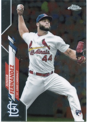 Photo of 2020 Topps Chrome #162 Junior Fernandez RC