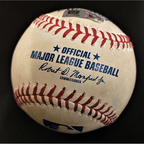 Photo of Game-Used Baseball:  Spencer Turnbull Detroit Tigers Strikeout (MLB AUTHENTICATED)