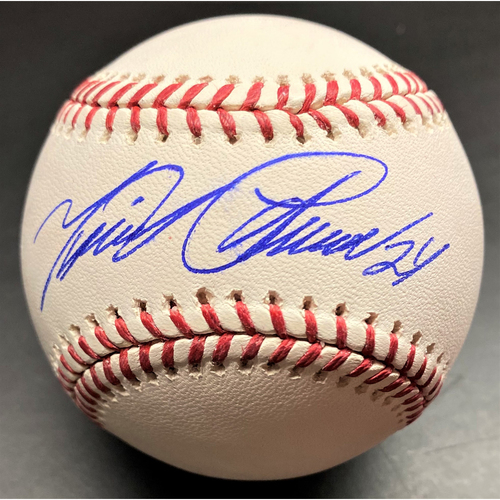 Photo of Miguel Cabrera Detroit Tigers Autographed Official Major League Baseball (MLB AUTHENTICATED)