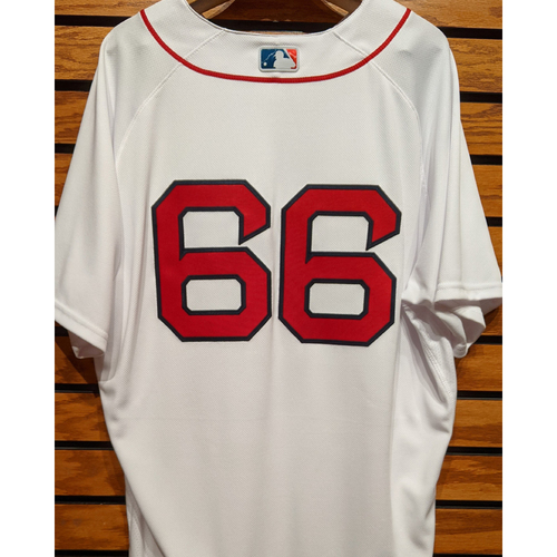 Photo of Bobby Poyner #66 Team Issued Home White Jersey