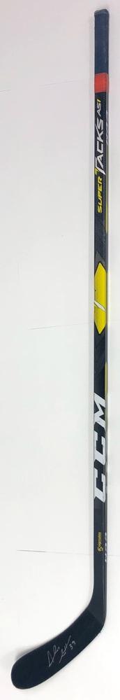 #39 Alex Chiasson Game Used Stick - Autographed - Edmonton Oilers