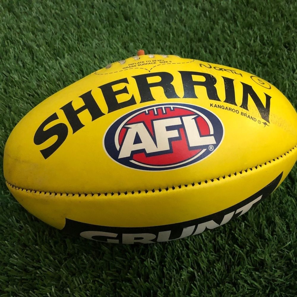 Carlton 2021 Round 19 Match Used Ball - #5