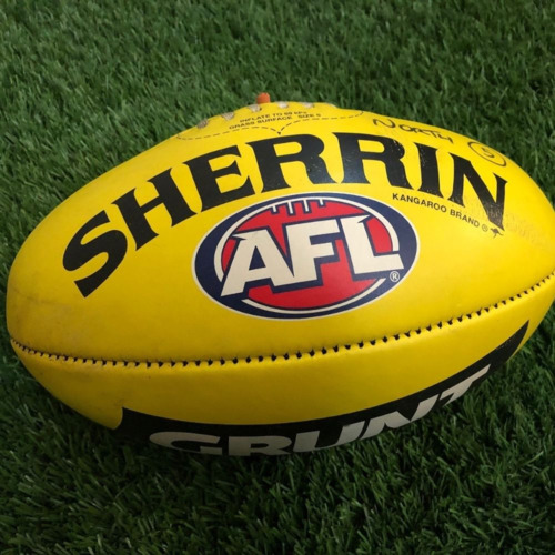 Photo of Carlton 2021 Round 19 Match Used Ball - #5
