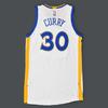 Stephen Curry - Golden State Warriors - Game-Worn Jersey w/NBA Trophy Patch - Kia NBA Tip-Off '15 - Banner Raising Night