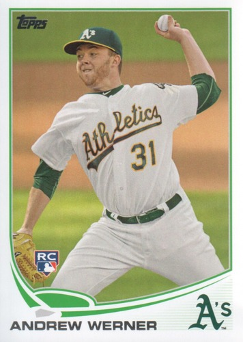 Photo of 2013 Topps #433 Andrew Werner RC