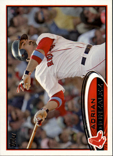 Photo of 2012 Topps #50 Adrian Gonzalez