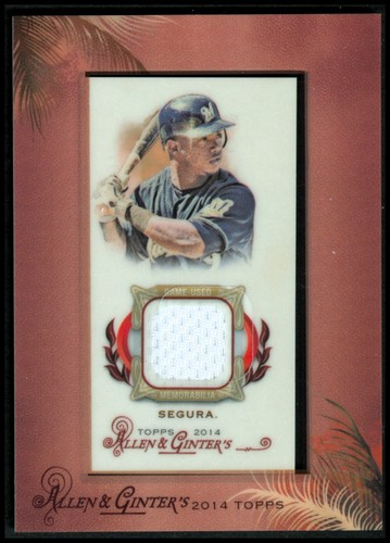 Photo of 2014 Topps Allen and Ginter Mini Framed Relics #RAJSE Jean Segura A