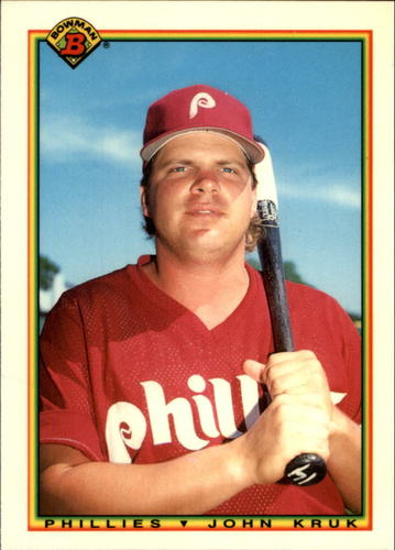 Photo of 1990 Bowman Tiffany #154 John Kruk
