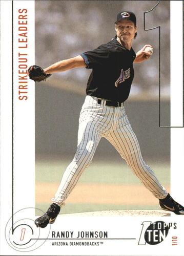 Photo of 2002 Topps Ten #151 Randy Johnson K