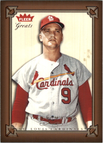 Photo of 2004 Greats of the Game #126 Roger Maris Cards