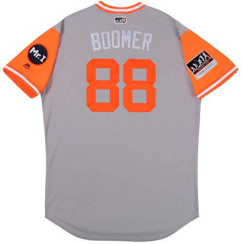 "Photo of Matt ""Boomer"" Martin Detroit Tigers Team-Issued Players Weekend Jersey"