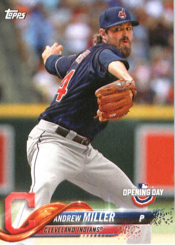 Photo of 2018 Topps Opening Day #35 Andrew Miller