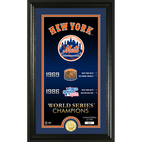 "Photo of New York Mets ""Legacy"" Bronze Coin Photo Mint"