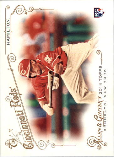 Photo of 2014 Topps Allen and Ginter #186 Billy Hamilton Rookie Card