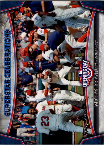 Photo of 2015 Topps Opening Day Superstar Celebrations #SC17 Michael Brantley