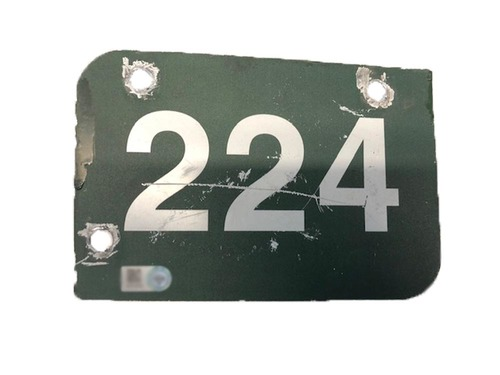 Photo of 12 Days of Auctions: Day 11 -- Wrigley Field Collection -- Aisle Marker 224