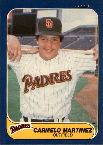 Photo of 1986 Fleer #329 Carmelo Martinez