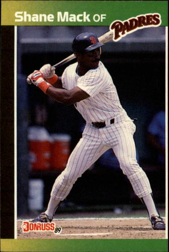 Photo of 1989 Donruss #538 Shane Mack DP