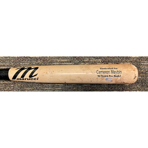 Photo of Cameron Maybin Detroit Tigers Game-Used Cracked Bat (MLB AUTHENTICATED)