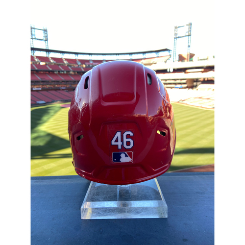 Photo of Cardinals Authentics: Game-Used Paul Goldschmidt Home Red Helmet