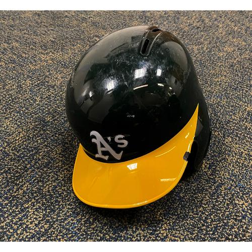 Stephen Piscotty Game-Used 2019 Helmet