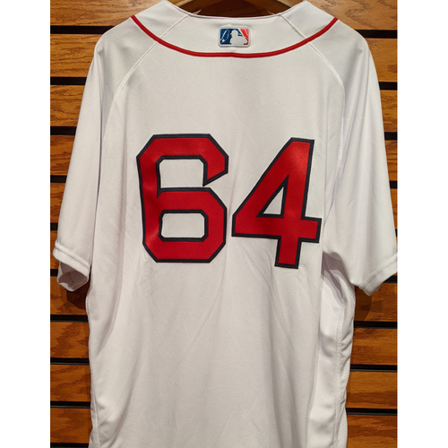 Marcus Walden #64 Team Issued Home White Jersey