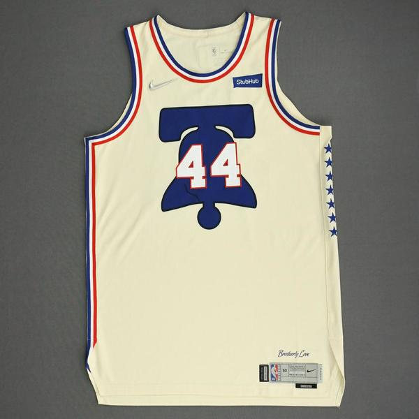 Image of Paul Reed - Philadelphia 76ers - Game-Worn Earned Edition Jersey - 2020-21 NBA Season