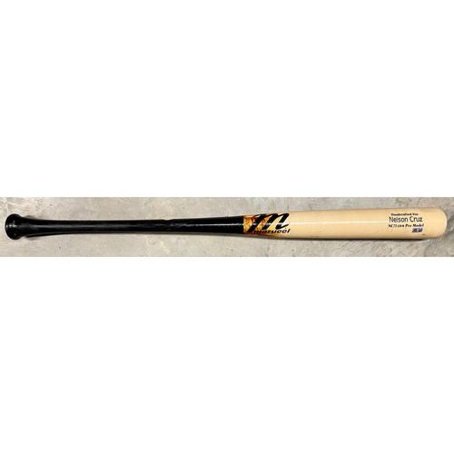 Photo of Game Used Broken Bat: Nelson Cruz #23 - August 18, 2021 v BAL