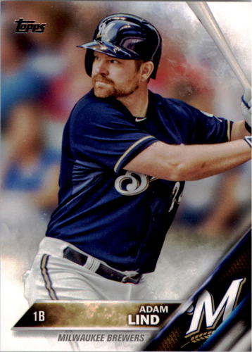 Photo of 2016 Topps #57 Adam Lind