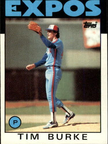 Photo of 1986 Topps #258 Tim Burke