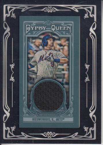 Photo of 2013 Topps Gypsy Queen Framed Mini Relics #KN Kirk Nieuwenhuis
