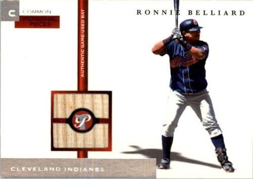 Photo of 2005 Topps Pristine Personal Pieces Common Relics #RB Ronnie Belliard Bat