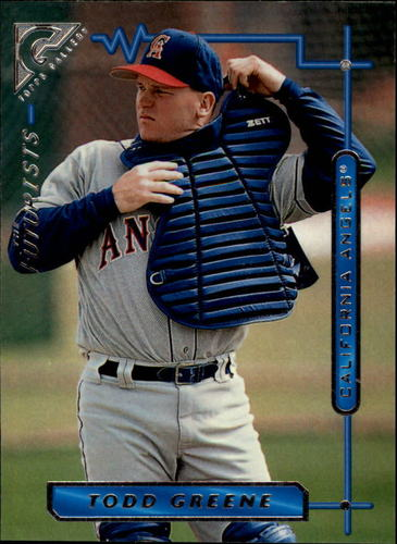 Photo of 1996 Topps Gallery #130 Todd Greene